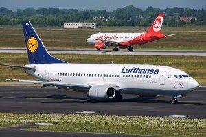 Dusseldorf airport arrivals