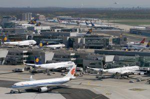 Frankfurt Airport departures