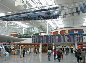 munchen airport terminal departures