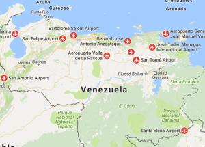 airports venezuela south america