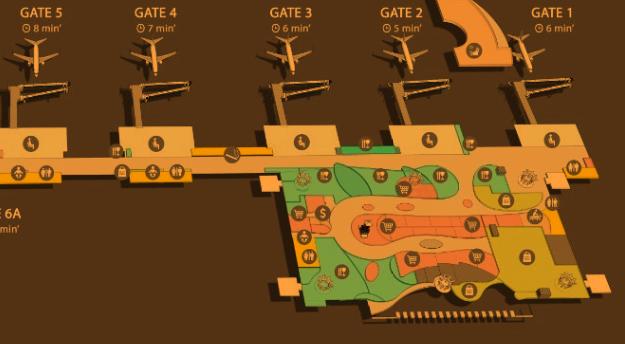 BALI-denpasar-arrivals-DPS-international-terminal-map