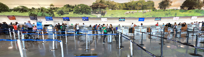 Liberia-Airport-departures-LIR-check-in counters