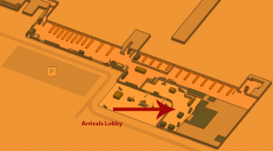 Malaga Airport Arrivals AGP Terminal 1 Floor 0
