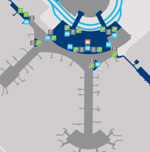 Toronto-Pearson-Airport-arrivals-YYZ-terminal-1-level-1-map