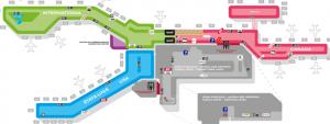 YUL-departures-Montreal-terminal-area