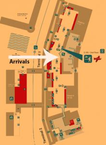 bremen-arrivals-BRE-airport-terminal-map