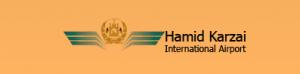 kabul airport departures KBL logo