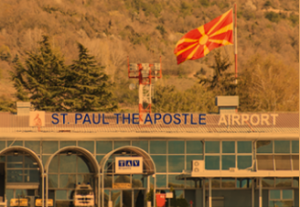 ohrid airport arrivals OHD airport photo