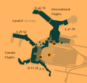 vancouvvancouver-airport-arrivals-YVR-terminal-maper airport departures YVR terminal map