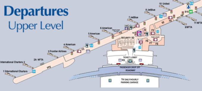 Buffalo-Airport-departures-BUF-terminal-level