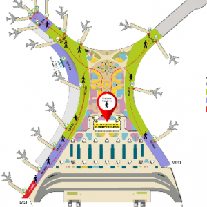 Chhatrapati Shivaji Maharaj International Airport, Mumbai airport departures BOM terminal 2 level 3 domestic