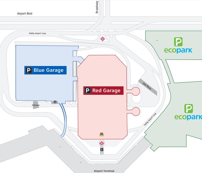 HOU-Departures-Houston-Airport-parking-area