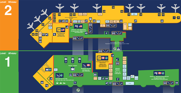 Halifax-Stanfield-airport-arrivals-YHZ-and-departures-terminal-map