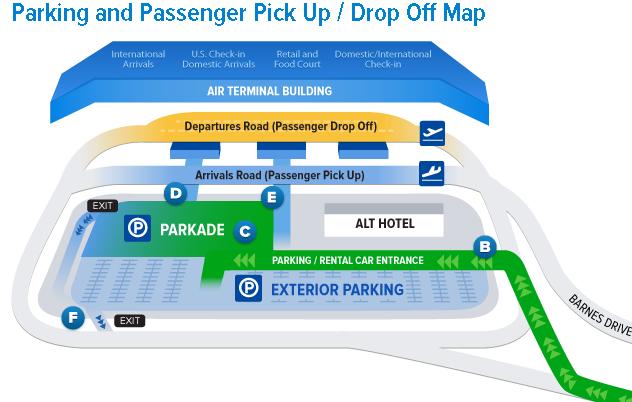 Halifax-Stanfield-airport-departures-YHZ-pick-up-drop-off