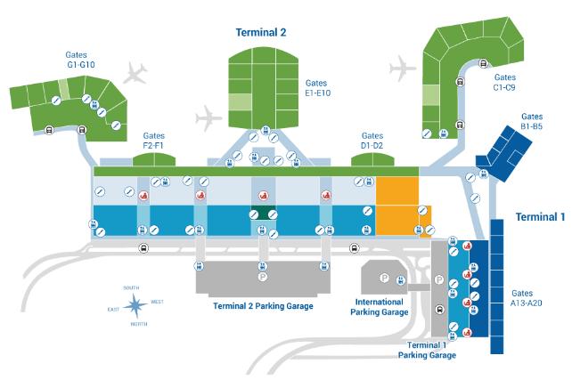 Honolulu-Airport-Departures-HNL-terminal-floor-2-ticketing-boarding