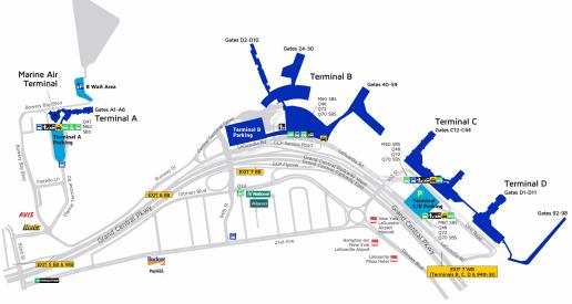 New-York-LaGuardia-Airport-Arrivals-LGA-terminal-map