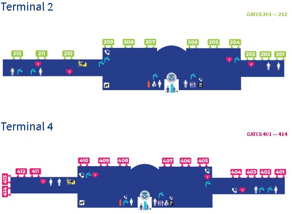 Ontario-airport-departures-ONT-terminal-map-2-&-4