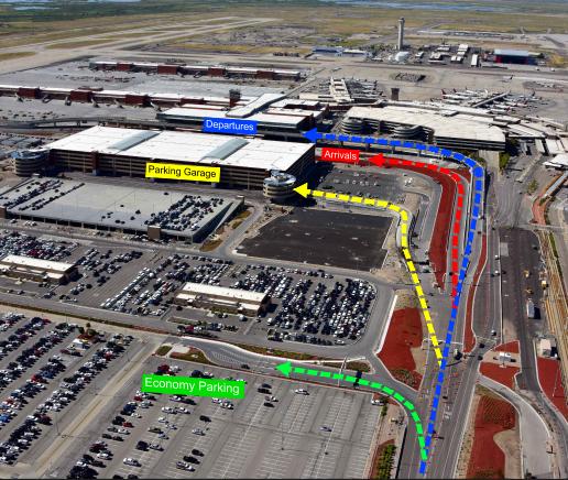 SLC-arrivals-salt-lake-city-airport-terminal-pick-up-drive-through