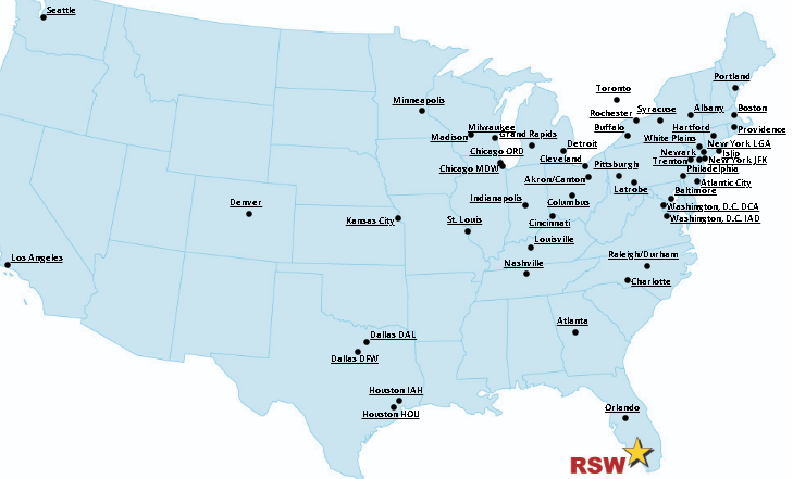 Southwest-Florida-Airport-Departures-RSW-direct-flights