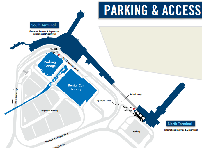 Ted-Stevens-Anchorage-airport-departures-parking-map