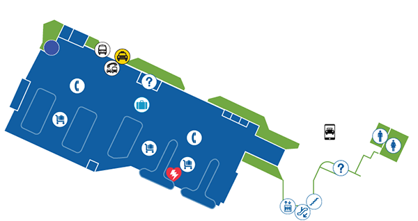 kalului airport arrivals ogg terminal map floor 1 baggage claim