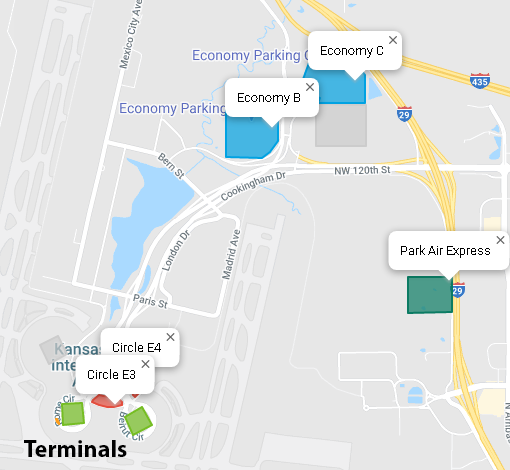 kansas-city-airport-departures-MCI-parking-map