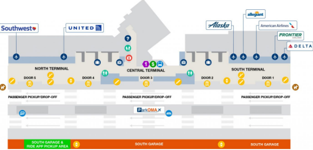 omaha-Eppley-Airfield-arrivals-OMA-terminal-lower-level