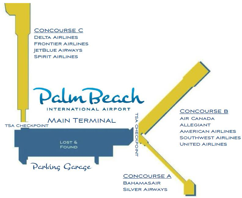 palm-beach-airport-departures-pbi-concourses-A-B-and-C-terminal-map