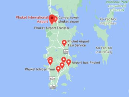 phuket-airport-arrivals-HKT-location-map
