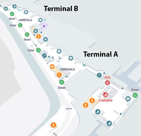 san-antonio-airport-arrivals-SAT-terminal-area