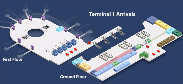 Antalya-Airport-Arrivals-AYT-terminal-1-arrivals-lobby