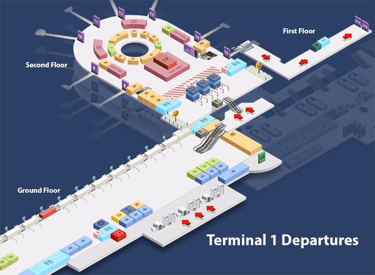 Antalya-Airport-Departures-AYT-terminal-1-departure-lobby