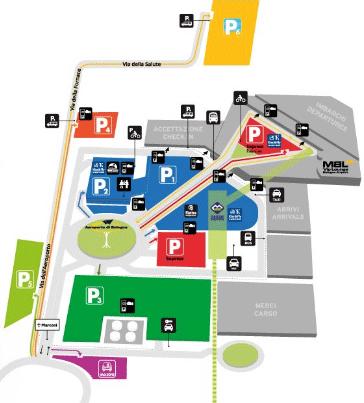 BLQ-Arrivals-Bologna-Airport-parking-map