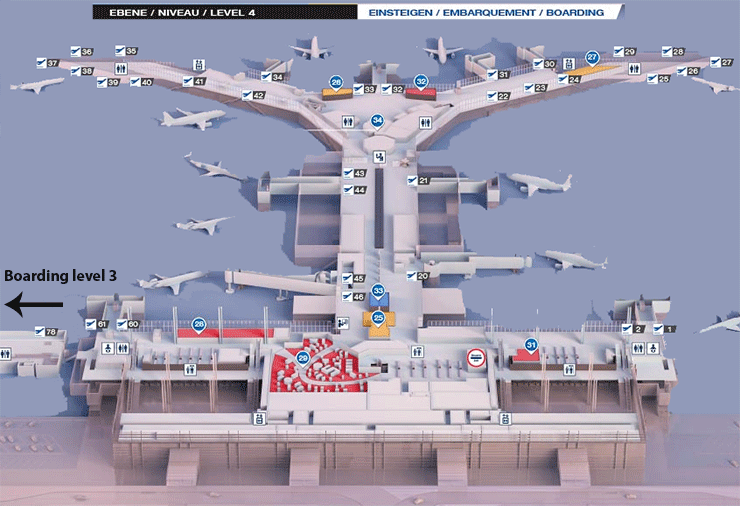 BSL-departures-Basel-Airport-&-MLH-departures-Mulhouse-airport-boarding-level