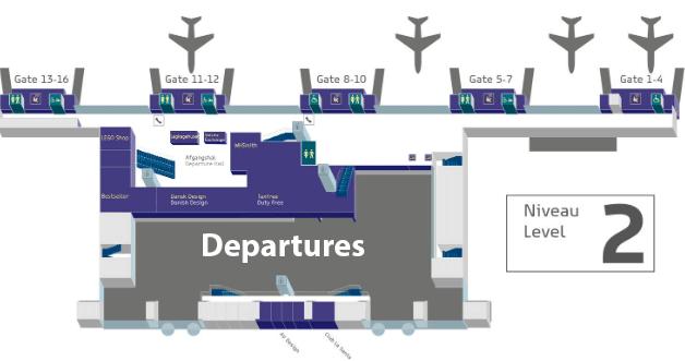Billund-Airport-Departures-BLL-terminal-map-level-2