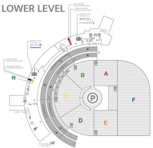 Birmingham-Airport-Arrivals-BHM-(Shuttlesworth,-US)-lower-level-terminal-baggage-claim