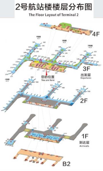Chengdu-Shuangliu-Airport-Arrivals-CTU-terminal-2-map
