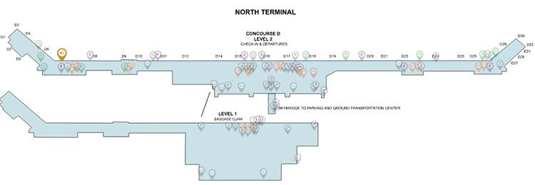 DTW-departures-Detroit-airport-metro-north-terminal