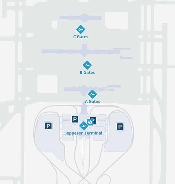 Denver-Airport-Arrivals-DEN-parking-Jeppesen-terminal