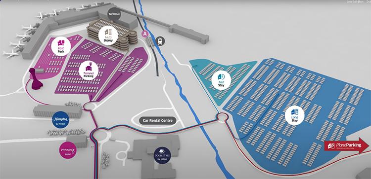 Edinburgh-Airport-Departures-EDI-parking-map