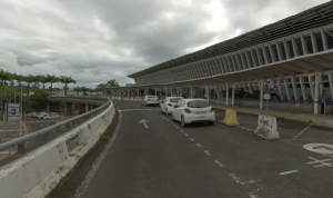 Guadeloupe-Airport-Departures-drop-off-terminal