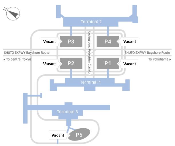 HND-Departures-Haneda-Airport-Tokyo-parking-map