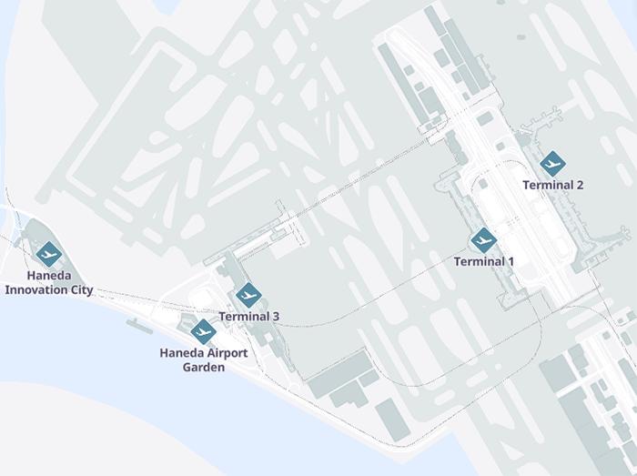 Haneda-Departures-Tokyo-Airport-map