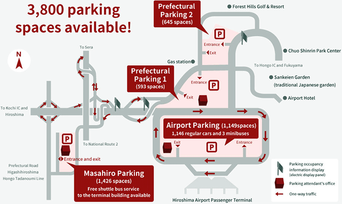 Hiroshima-Airport-Departures-HIJ-parking-map