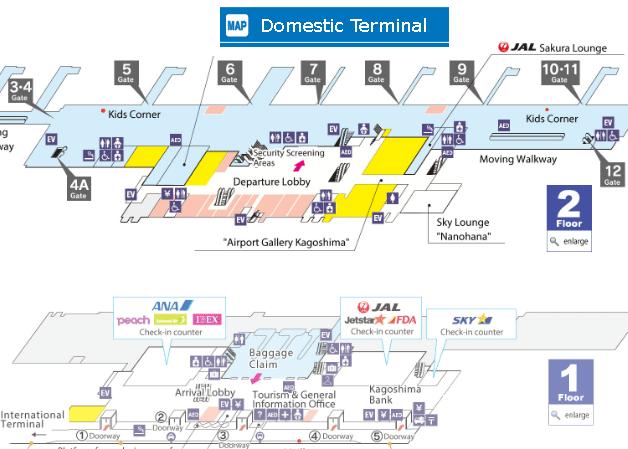 Kagoshima-Airport-Arrivals-KOJ-domestic-terminal