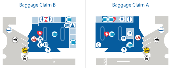 Kauai-Island-Lihue-Airport-Arrivals-LIH-baggage-claim-A-&-B