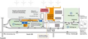 Kumamoto-Airport-Departures-KMJ-parking-area