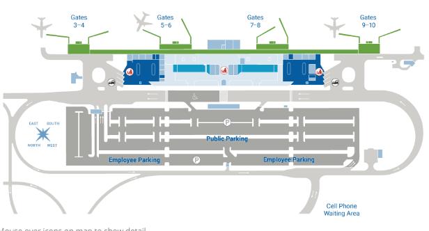 LIH-arrivals-Lihue-Airport-Kauai-Island-terminal-map