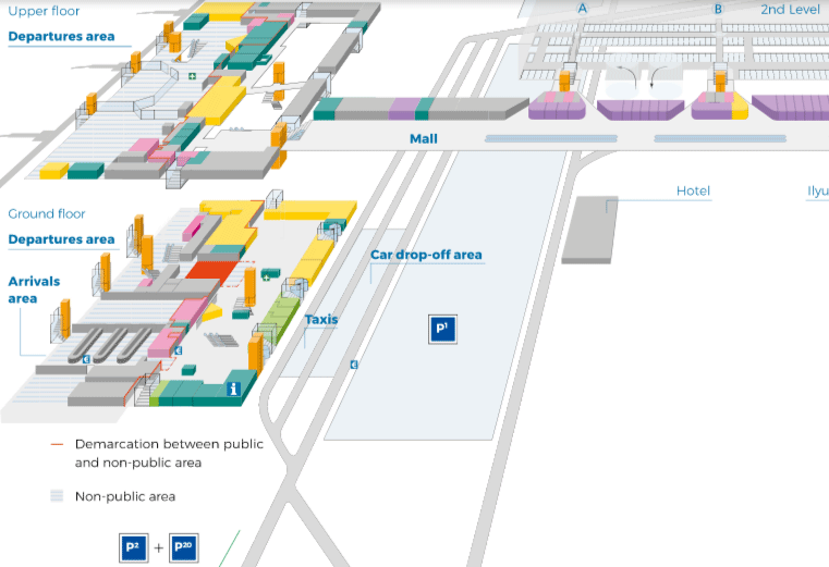 Leipzig-Halle-Airport-Arrivals-LEJ-terminal-hall