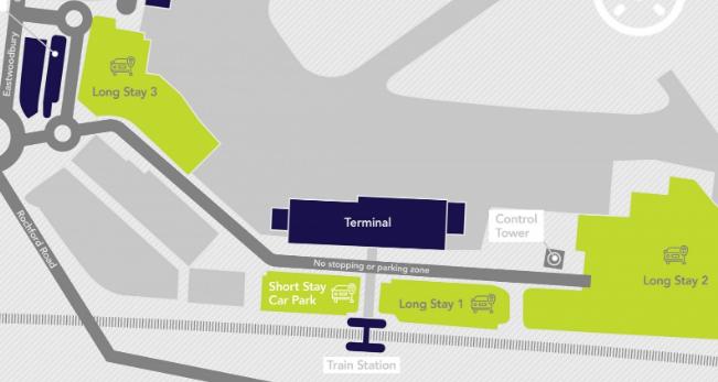 London-Southend-Airport-Departures-SEN-parking-map
